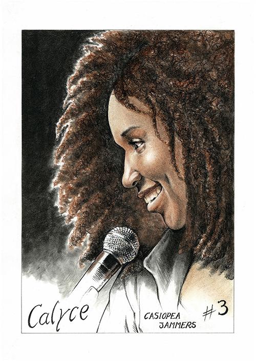 Calyce JoNene ilustración.